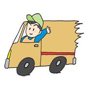 配送軽トラック