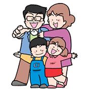 ビバッ四人家族