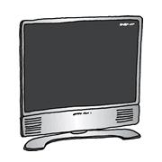 液晶薄型テレビ