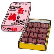 赤福餅(あかふくもち)