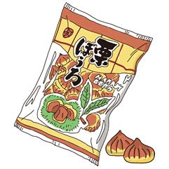 栗ぼうろ(栗ボーロ)