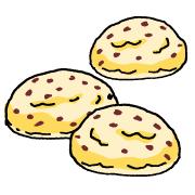 チョコチップメロンパン