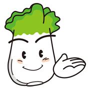 新鮮白菜キャラクター
